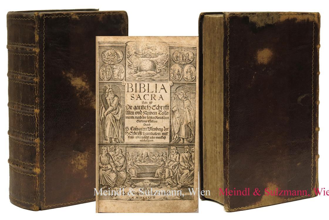 Biblia Sacra. Das ist: Die gantze H.: Biblia germanica.- Ulenberg,