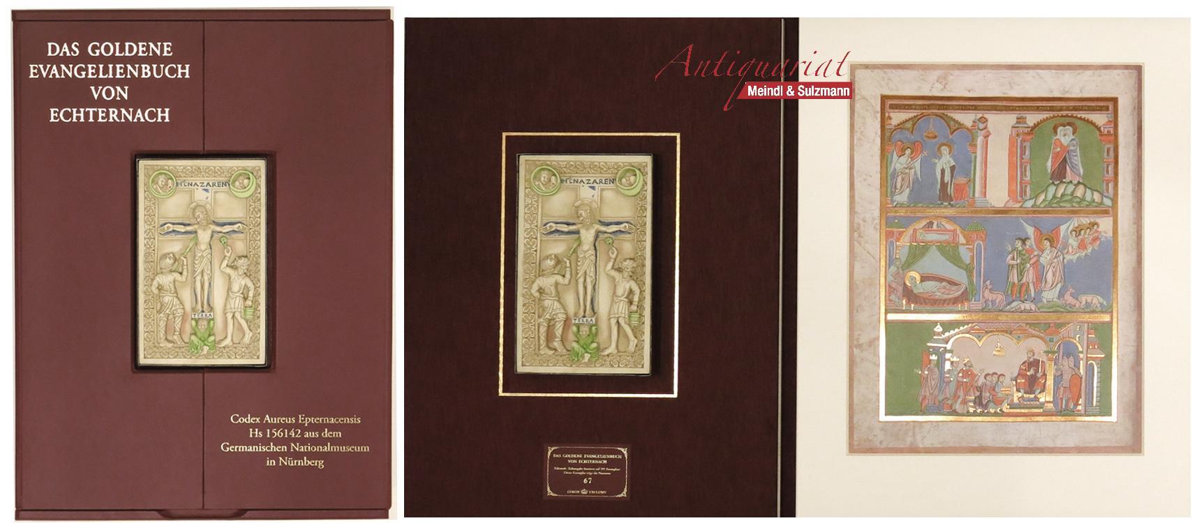 Das Goldene Evangelienbuch von Echternach. Faksimile-Teilausgabe vin: Goldenes Evangelienbuch von