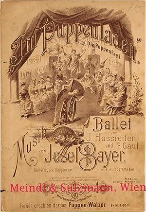 """Im Puppenladen"""". (Die Puppenfee). Ballet von J.: Bayer, Josef."""