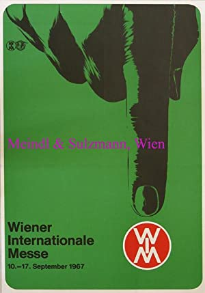 Wiener Internationale Messe WIM. 10. - 17. September 1967. Offsetdruck.