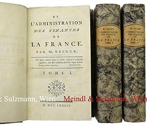 De l'Administration des Finances de la France.: Frankreich - Necker,