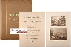 Gemälde-Sammlung des verewigten Herrn Dr. Martin Schubart.: Schubart, Martin.- Helbing,