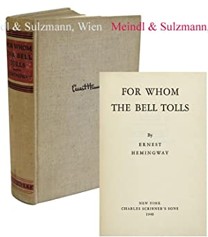 For Whom The Bell Tolls.: Hemingway, Ernest.