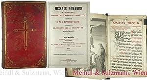 Missale Romanum ex decreto Sacrosancti Concilii Tridentini: Missale.-