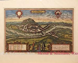 "Civitates Orbis Terrarum.: Salzburg - ""Saltzburgk."