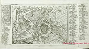 Wien mit naechst anliegender Gegend und denen: Wien Befestigungsgrundriß -