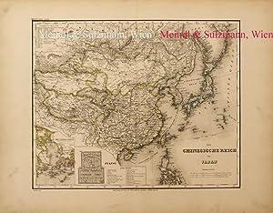 """Das Chinesische Reich und Japan"""". Aus Meyer's: China / Japan"""