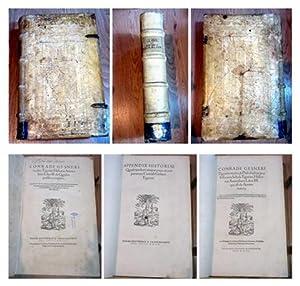 Historiae animalium Liber II. de Quadru pedibus: Gesner, Conrad und