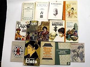 Konvolut der Übersetzungen in verschiedenen Sprachen. Französisch: Kawabata, Yasunari: