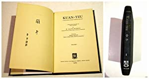 Kuan-tzu. A Repository of Early Chinese Thought.: Kuan-tzu and W.