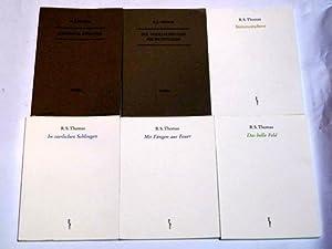 Konvolut von 6 Werken (Englisch u. Deutsch).: Thomas, R. S.: