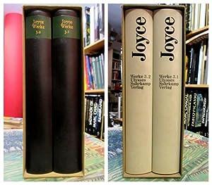 James Joyce. Werke (Frankfurter Ausgabe). 3.1/3.2: Ulysses.: Joyce, James und