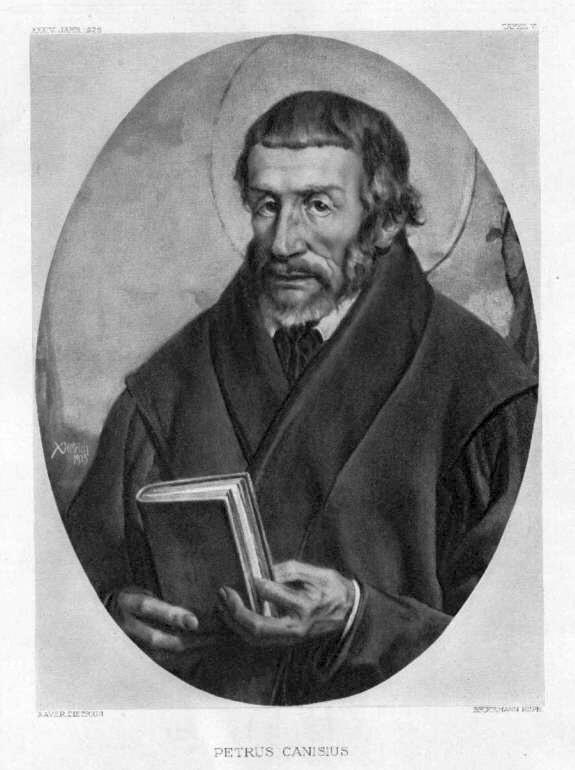 Canisius Petrus, Kunstdruck, um 1926, 29x20 cm: Bruckmann