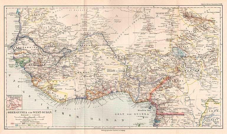 GUINEA/ Westafrika - - Ober-Guinea und West-Sudan,: Meyer