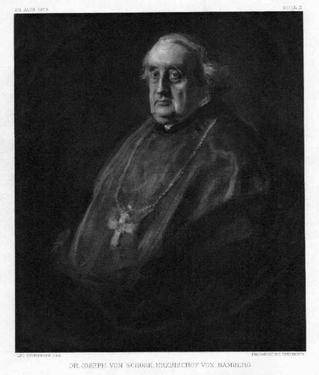 Schork Joseph von Dr., Erzbischof von Bamberg,: Bruckmann
