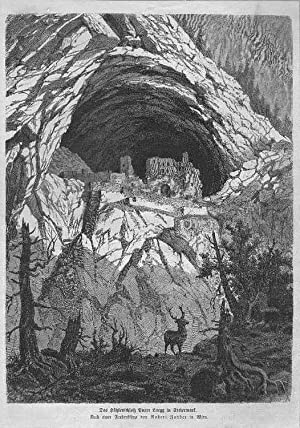 SLOWENIEN: PREDJAMA (LUEGG): Höhlenschloß -- -- um: Zander