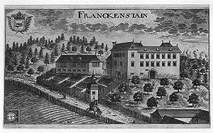 ÖSTERREICH: FRANKENSTEIN/ KÄRNTEN: Schloß -.- um 1688,: Valvasor