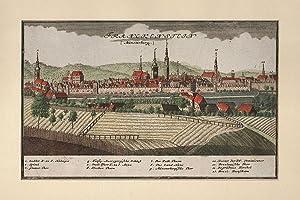 POLEN: FRANKENSTEIN (Zabkowice Slaskie) / Niederschlesien: Gesamtansicht,: Homann/ Fr.B. Werner