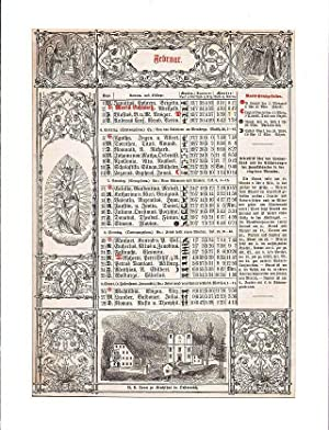 ÖSTERREICH: KIRCHTHAL/ ÖSTERREICH: Wallfahrtskirche Unsere Liebe Frau, auf einem Kalenderblatt -.- ...