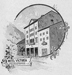 ITALIEN: MEZZOLOMBARDO/ BRENTA: Hotel Victoria *-* um