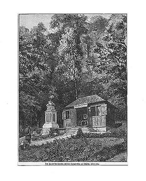 ÖSTERREICH: SALZBURG: Zauberflötenhäuschen auf dem Kapuzinerberg --- um 1890, ...