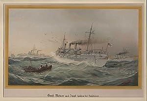 RUSSLAND: BRÜSTERORT (= MAJAK)/ OSTPREUSSEN: Schiffe der: Willy Stöwer