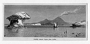 ITALIEN: NEAPEL: Blick vom Ischia auf Neapel: Whymper