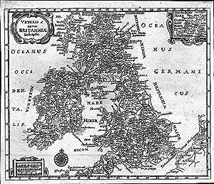 GROSSBRITANNIEN *-* Veteris et nova Britanniae descriptio,: Philipp Cluver