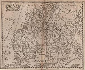 SKANDINAVIEN *-* Svecia, Dania et Norvegia, Kupferstich: Philipp Cluver