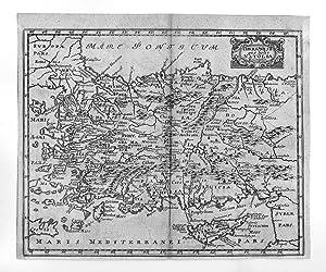 ANATOLIEN *-* Chersonesi quae hodie Natolia Descriptio,: Philipp Cluver