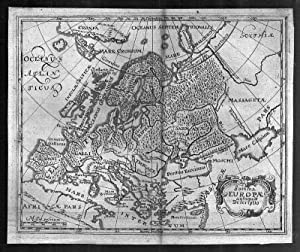 EUROPA *-* Summa Europae antiquae Descriptio, Kupferstich: Philipp Cluver
