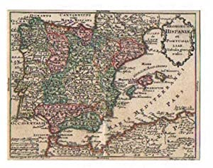 SPANIEN - PORTUGAL *-* Regnorum Hispaniae et: Tobias Lobeck bei