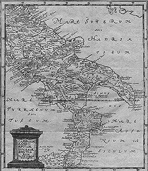 SÜDITALIEN *-* Campaniae, Samnii, Apuliae, Lucaniae, Brutiorum: Philipp Cluver