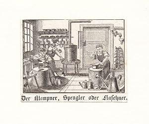 Flaschner Klempner und Spengler *-* Auf einem: Voltz
