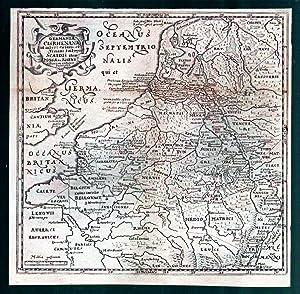 HOLLAND (NIEDERLANDE) *-* Germania cis Rhenana, Historische: Philipp Cluver