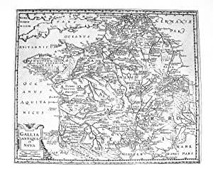 FRANKREICH *-* Gallia Antiqua et Nova, Kupferstich: Philipp Cluver