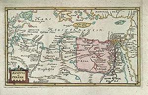 ÄGYPTEN - LIBYEN *-* Aegyptus et Cyrene,: Philipp Cluver