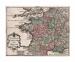 FRANKREICH *-* Totius Regnum Galliae sive Franciae: Tobias Lobeck bei