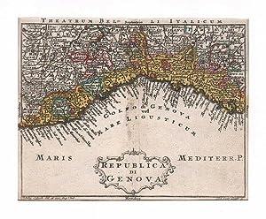 GENUA *-* Republica die Genova, zeigt die: Tobias Lobeck bei