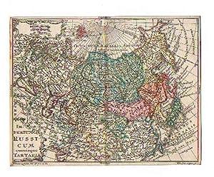 RUSSLAND *-* Imperium Russicum Omnisque Tartaria, altkolorierter: Tobias Lobeck bei