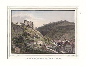 FRANKENSTEIN/ Rheinpfalz: Gesamtansicht mit einer der ersten: Kurz