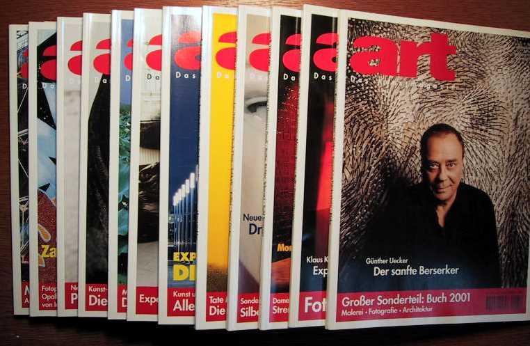Gruner Und Jahr Zeitschriften das kunstmagazin mit wolkenkratzer journal 12