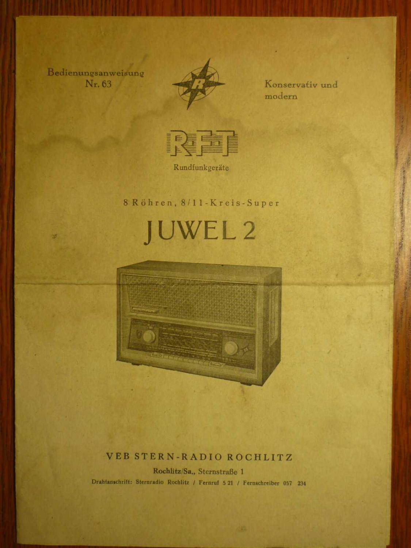 rft stern radio von rft veb - ZVAB