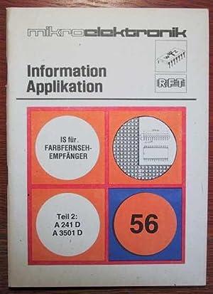 RFT - Mikroelektronik - Information Applikation -: RFT - VEB