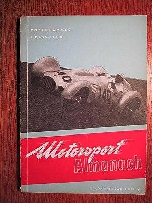 Motorsport-Almanach 1953.: Rosenhammer, A. und G. Grassmann: