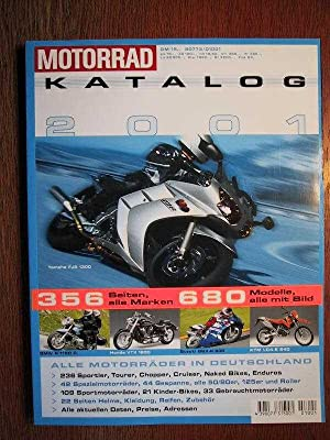 Motorrad Katalog 2001 - Ausgabe Nr. 32.: Motor Presse Verlag