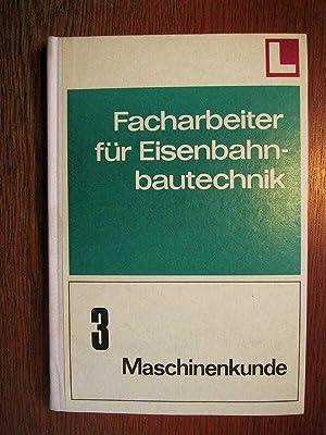 Deutsche Reichsbahn - Facharbeiter für Eisenbahnbautechnik -: Autorenkollektiv: