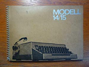 Kleinschreibmaschine Modell 14/15 - Original Ersatzteilkatalog -: VEB Schreibmaschinenwerk Dresden