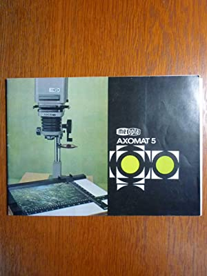 Meopta Axomat 5 - Vergrößerungsgerät - Original: ZVS Meopta Prerov