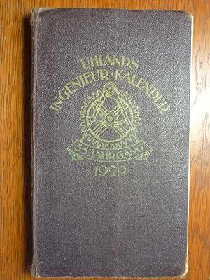 Uhlands Ingenieur-Kalender 1929 - 55. Jahrgang in: Uhland, W. H.